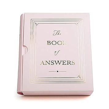 ONLOVE Libro de respuestas Regalo de cumpleaños Chica Niño ...