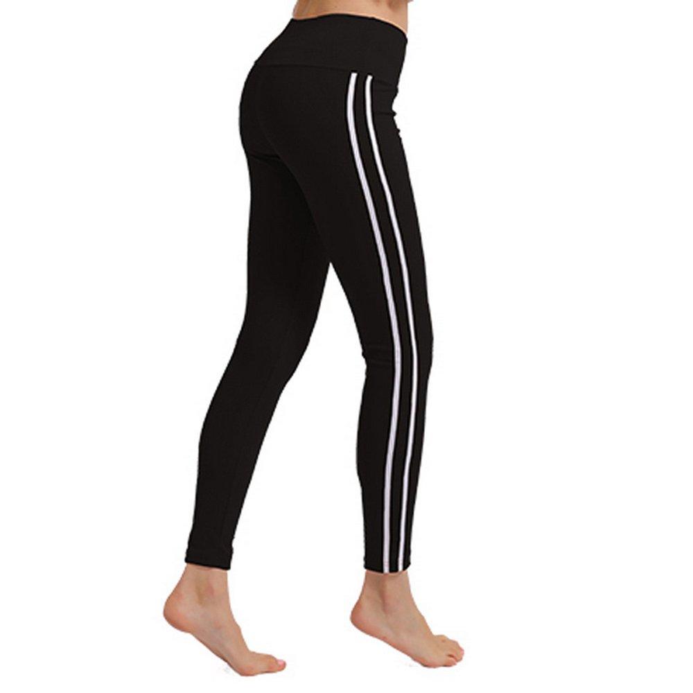 Oeak Damen Sport Leggings Hohe Taille Strumpfhose Übung Hose