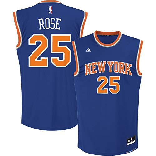 (Youth Derrick Rose New York Knicks Replica Basketball Jersey by Adidas (S=8))
