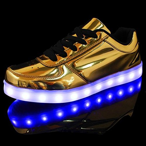 [Present:small towel]JUNGLEST® High Quality USB Charging LED Lighted Luminous for Unisex Couple Casual Sport Shoes Sneakers 7 color USB rechargeable LED c32 5gPabVz