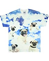 Pugs in the Clouds Pugs the Limit Graphic T-Shirt