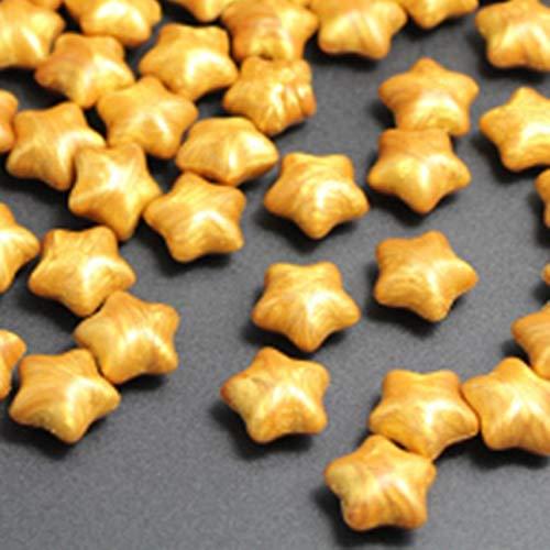 Poetrytan 100pcs Epoca Antica Ceralacca Lucky Stars Speciali a Forma di Cera