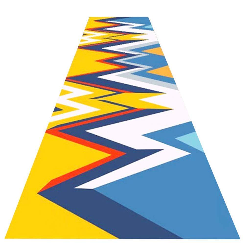 A LYQZ La Cuisine de Salon d'escalier de Tapis du Corridor 3D et Le Tapis d'entrée Peuvent être coupés, Le Magasin Complet Peut être adapté aux Besoins du Client (Couleur   A, Taille   0.8  3m) 0.99m