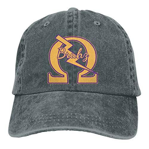 1911 Omega QUE Dog ROO Nasty DAWG PSI PHI Dad Hat Denim Baseball Cap Adjustable Polo Trucker Unisex Style Headwear