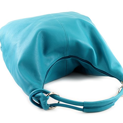 337 Italian 1 handbag Türkis bag bag hobo leather bag women's bag 8Cq8S1ra
