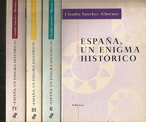 España : un enigma historico: Amazon.es: Sanchez-Albornoz, Claudio: Libros