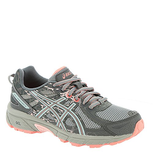 Pink Reviews Shell (ASICS Gel-Venture 6 Women's Running Shoe, Carbon/Mid Grey/Seashell Pink, 10.5 M US)