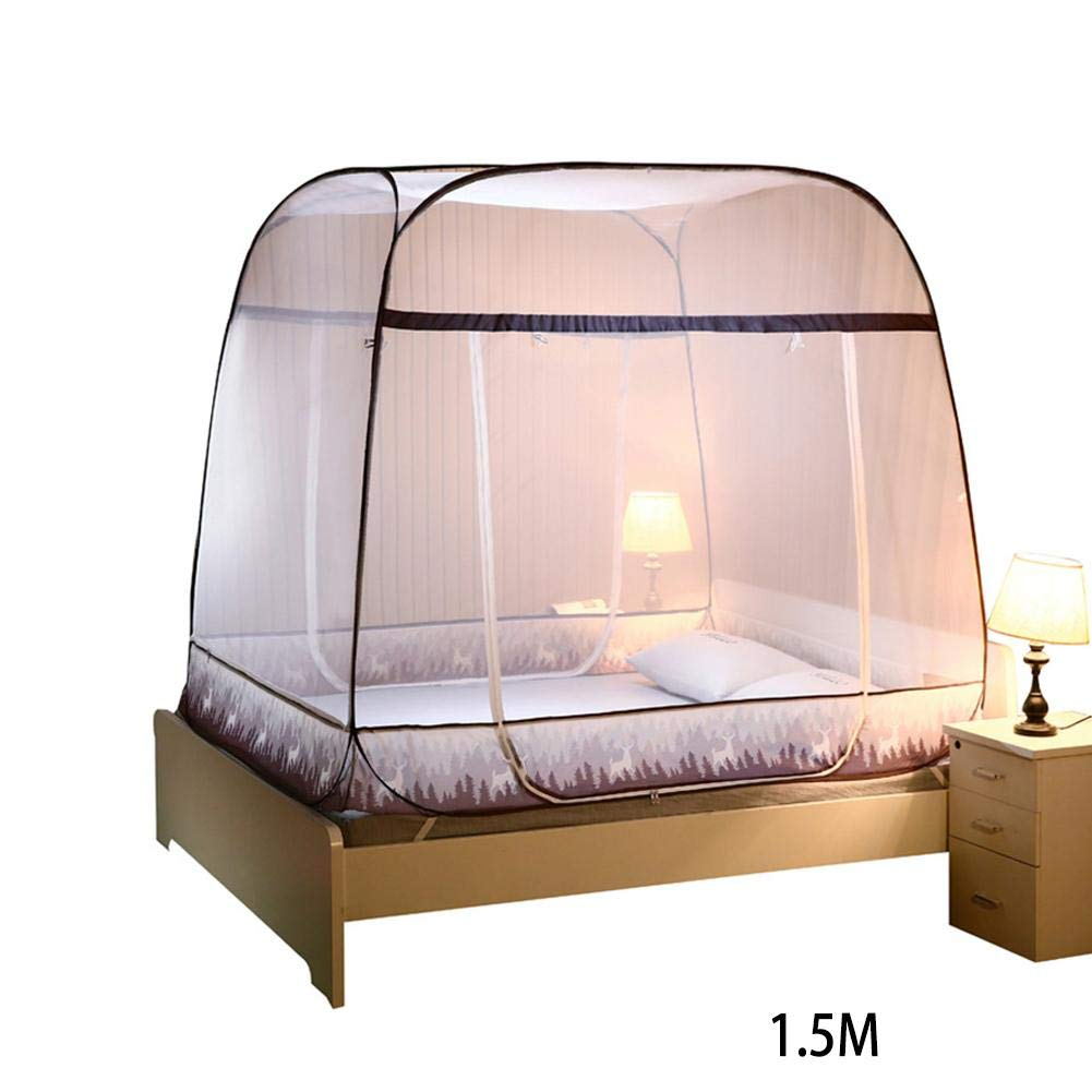 XZAQro Mosquito Net Outdoor Tent Folding Mongolia Bag Anti Mosquito Prevent Insect for Baby Or Adult
