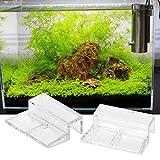 20Pcs Aquarium Glass Cover Clip Acrylic Universal