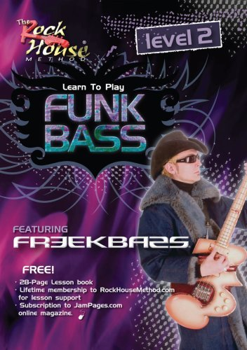 Freekbass, Learn to Play Funk Bass, Level 2 (Leonard Hal Download)
