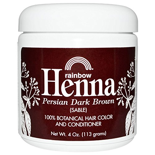 Rainbow Research Henna, 100% Botanical Hair Color and Con...
