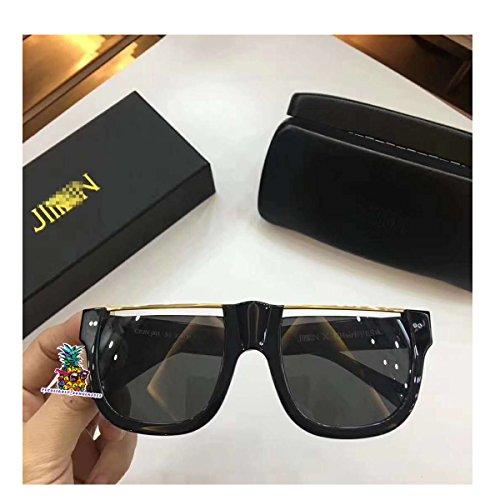 New fashion eyeglasses man Sunglasses for Jinnnn X Chaireye women men - black gold