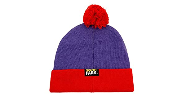 4f4ce90af67 Amazon.com  South Park Stan Marsh Cosplay Knit Beanie Hat Purple ...