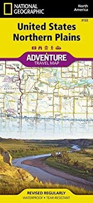 United States, Northern Plains (National Geographic Adventure Map)