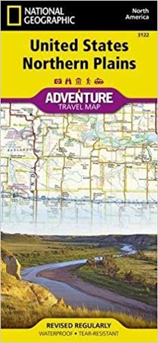 United States, Northern Plains (National Geographic Adventure Map ...