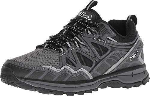 Black TKO Trail Castlerock Men's Fila Memory 0 Running Tr 1 Shoe Shadow Wide 5 Dark Of4HTw