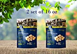 Roasted Hazelnuts Natural Non-GMO Certified, Unsalted, Dry Roasted, Kosher Certified, Resealable Bag 2 Set of 16 oz (32 oz)