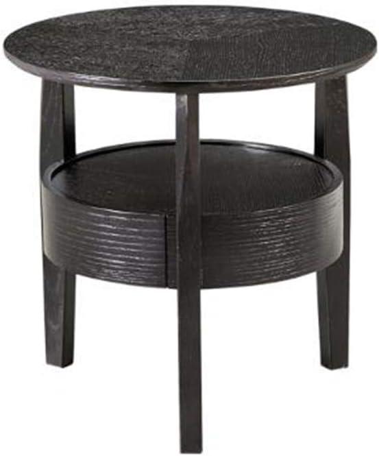 YNN ポータブルテーブル 引き出し小さなアパートソリッドウッドソファサイドテーブルラウンドアクセント表リビングルームコーヒーテーブルコーナーテーブル50x50x50cm (Color : B)