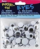 Darice 200-Piece Variety Pack of Round Eyes, Black and White