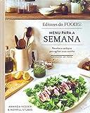 capa de Menu para a semana: Receitas e cardápios para agilizar a sua cozinha