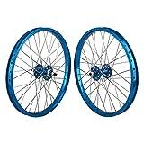 SE Bikes 20' BMX Wheelset - BLUE
