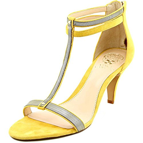 Vince Camuto Makoto Mujer Ante Tacones Yellow Narcissus/Gold