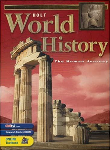 Holt World History: Human Journey: Student Edition Grades 9