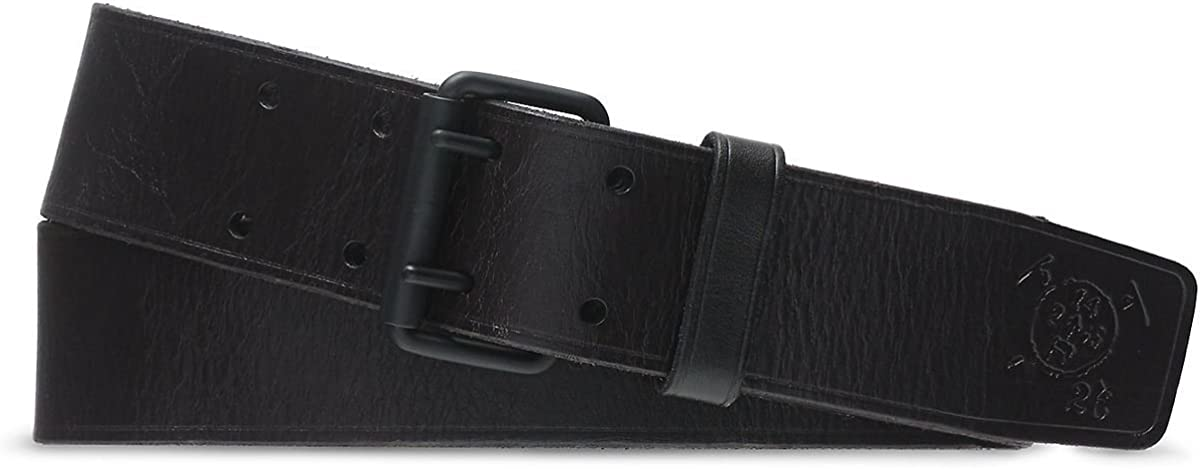 Polo Ralph Lauren Mens Belt Black 32