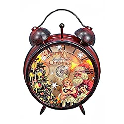 Lighted Alarm-Style Clock With Santa by Fantastic Craft