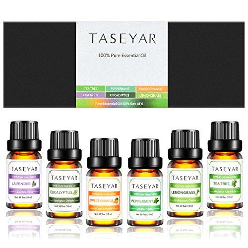 TASEYAR Therapeutic Grade Aromatherapy Scented ...