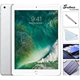 Apple iPad 9.7 Retina Display with Saiborie $49.99 Value bundle, 2017 5th Gen 32GB, M9, Wi-Fi, MIMO, Bluetooth, Apple iOS 10 (Silver)