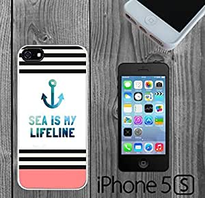 Cute Nautical Hipster Quote Custom made Case/Cover/Skin FOR iPhone 5/5s