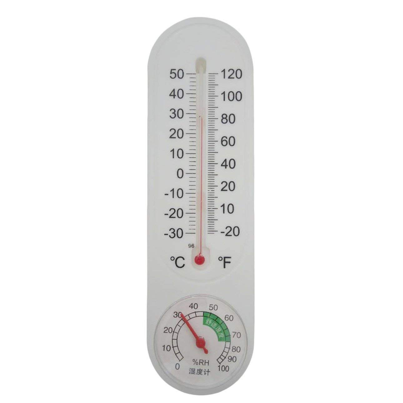 Liobaba Thermometer Humidity Analog Household Thermometer Hygrometer Wall-Mounted Tester Measure Home Popular