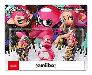 Amiibo Octoling Boy, Girl and Octopus Splatoon Triple Pack