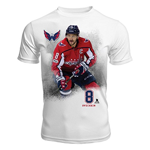 Levelwear Washington Capitals Alex Ovechkin NHL FX Highlight Reel II Kewl-Dry T-Shirt - Large