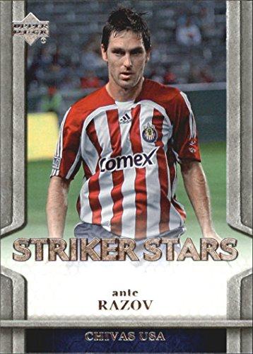 2007 Upper Deck MLS Striker Stars #SS3 Ante Razov - NM-MT