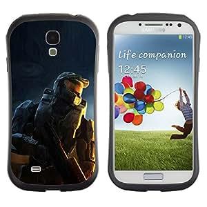 Suave TPU GEL Carcasa Funda Silicona Blando Estuche Caso de protección (para) Samsung Galaxy S4 I9500 / CECELL Phone case / / Soldier Master Sarge /