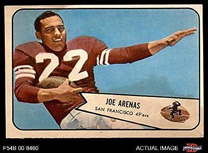aecbc0065 1954 Bowman   30 Joe Arenas San Francisco 49ers (Football Card) Dean s  Cards 3