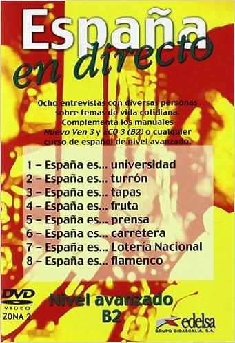 ESPAÑA EN DIRECTO - DVD ZONA 2: Amazon.es: Libros