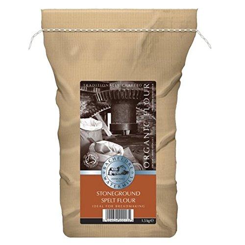 1,5 kg Bacheldre Orgánica Stoneground Grano entero Harina de espelta