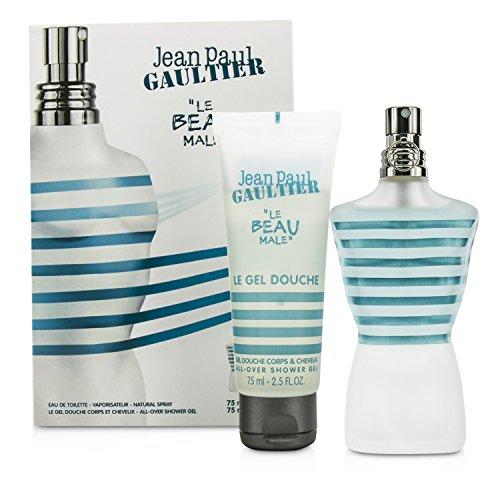 Coffret Jean Paul Gaultier (Jean Paul Gaultier Le Beau Male Coffret: Eau De Toilette Spray 75ml/2.5oz + Shower Gel 75ml/2.5oz 2pcs)