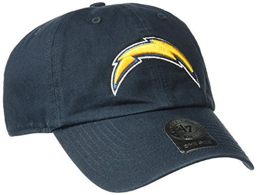 NFL San Diego Chargers '47 Clean Up Adjustable Hat, Navy, One (San Diego Chargers Clothing)