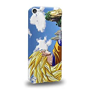 Case88 Premium Designs Dragon Ball Z GT AF Son Gohan Super Saiyan 3 Son Goku Protective Snap-on Hard Back Case Cover for Apple iPod Touch 5