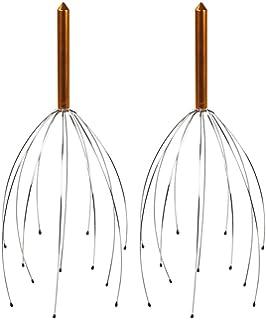 COM-FOUR® El dispositivo de masaje de cabeza 2x como un cabezal para su