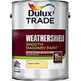 Dulux Trade Weathershield Smooth Masonry Country Cream 5 Litres by Dulux Trade