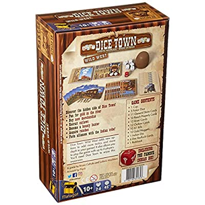 Dice Town: Wild West: Toys & Games