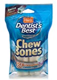 HARTZ Dentist's Best Bacon Flavored Crunchy and Chewy Dental Care Dog Bone Chew Treats - Medium - 2 Pack