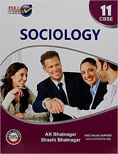 Ncert Sociology Book Class 12