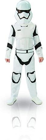 Oferta amazon: Star Wars - Disfraz de Storm Trooper para niños, talla L infantil 7-8 años (Rubie's 620267-L)