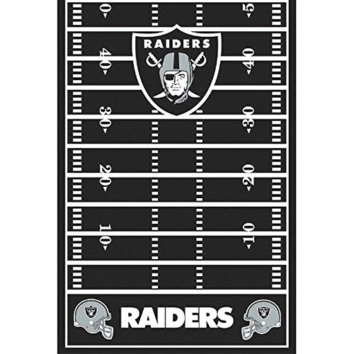 NFL Oakland Raiders Plastic Table Cover (1ct) -